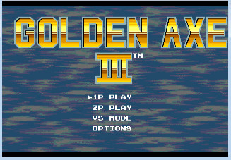MD战斧3(Golden Axe 3)日版