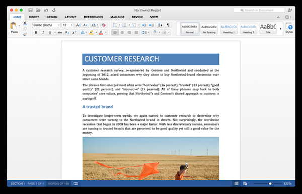Office 2016 for mac 正式版V15.37中文版