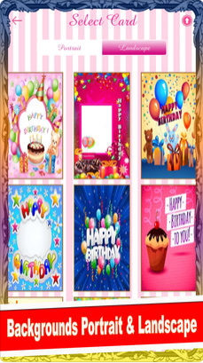 Birthday Card Maker V1.2 IOS版