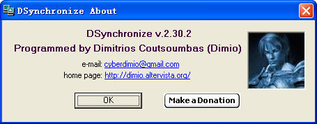 DSynchronize Portable(文件同步工具)V2.30.2 英文绿色便携版