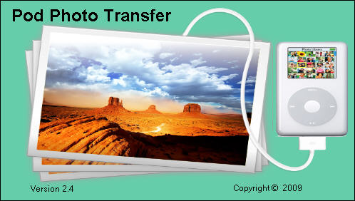 Pod Photo Transfer(iPod图片恢复工具)V3.03 英文安装版