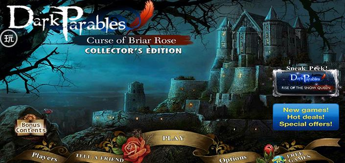 黑暗寓言:被诅咒的野玫瑰(Dark Parables: Curse of the Briar Rose)V1.0.0 解锁版
