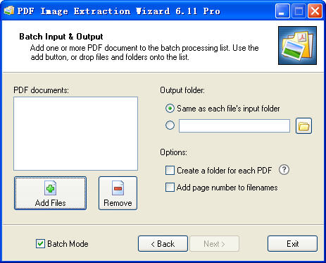 PDF Image Extraction WizardV6.11 官方版
