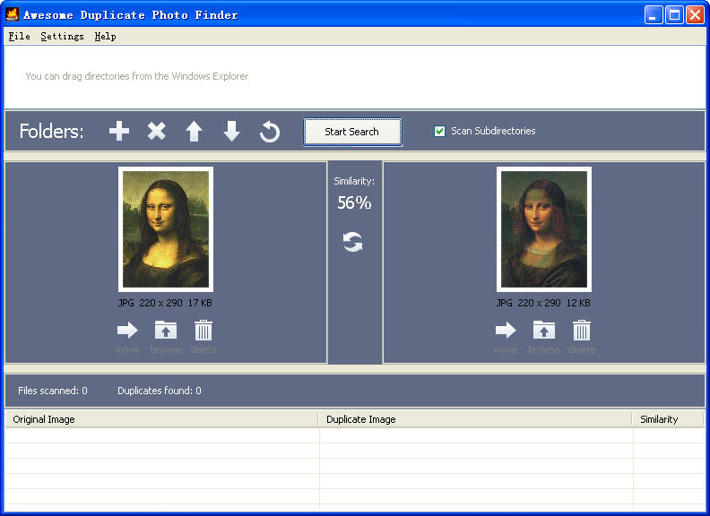 Awesome Duplicate Photo FinderV1.1.0 绿色版